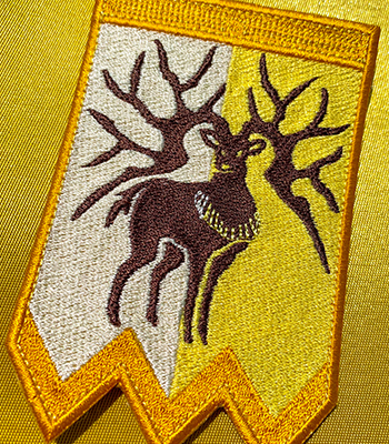 Golden Deer Crest