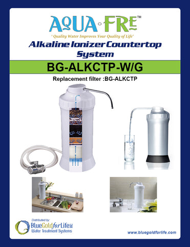 Alkaline Ionizer Countertop System - Blue Gold For Life Inc