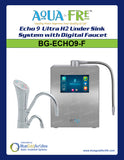 Echo® 9 Ultra H2 Under Sink System with Digital Faucet