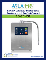 Echo 174 9 Ultra H2 Hydrogen Water System Blue Gold For