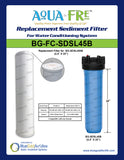 Tankless Replacement Filter