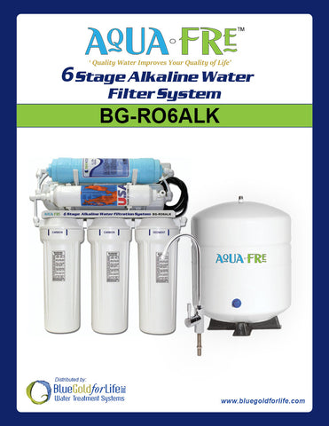 6-Stage Alkaline System - Blue Gold For Life Inc