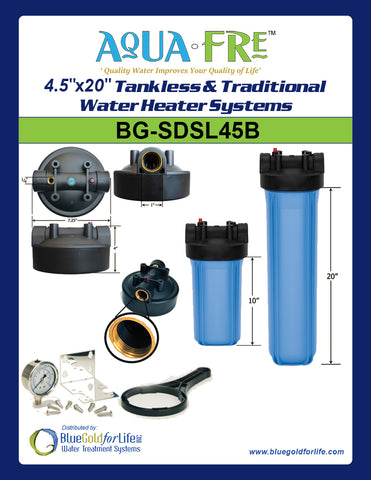 "4.5""x20""   Tankless & Traditional Water Heater Systems - Blue Gold For Life Inc"