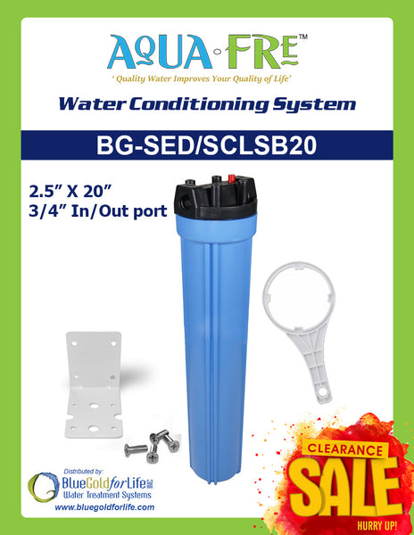 Tankless Water Conditioning System