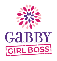 picture with gabby girl boss logo