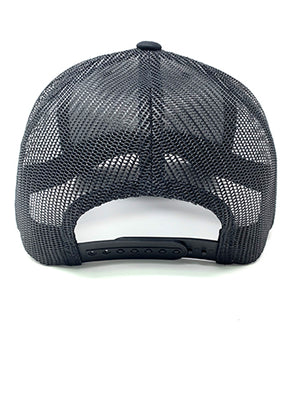 XIII - Black Viper Mesh Back Hat - Don't Tread On Me