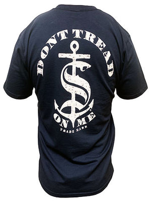Anchor - NVY - T-shirt - Don't Tread On Me