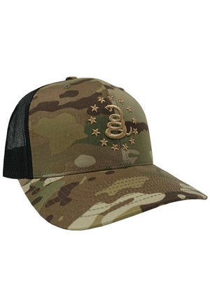 13 STARS - BRAVO HAT - Don't Tread On Me