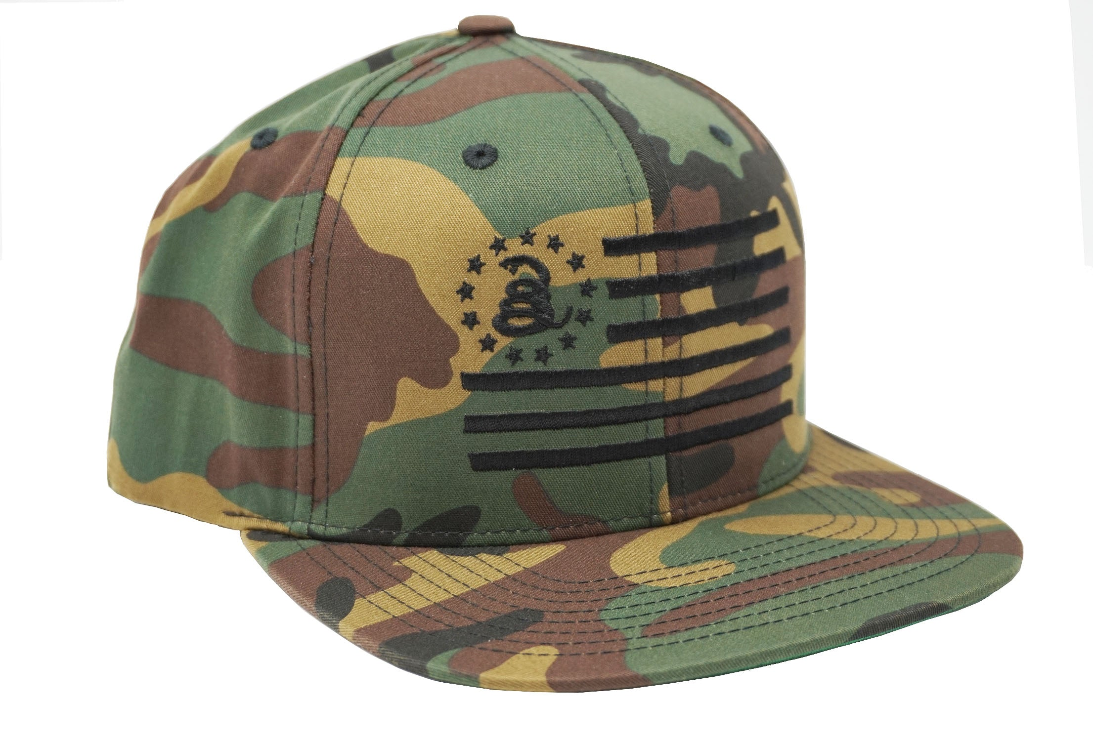 Don't Tread On Me® - Combat Flag - CAMO - Snapback Hat