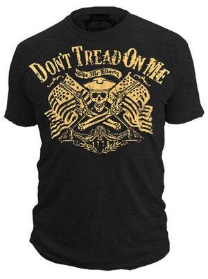 Commodore - T-Shirt - Don't Tread On Me