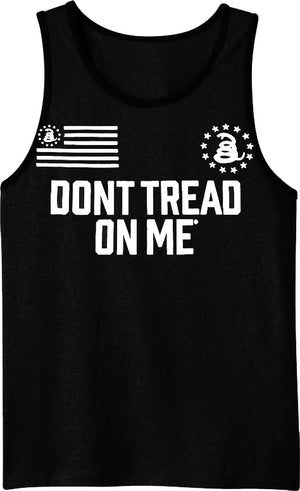 The Bottom Line - Tank Top - Don't Tread On Me