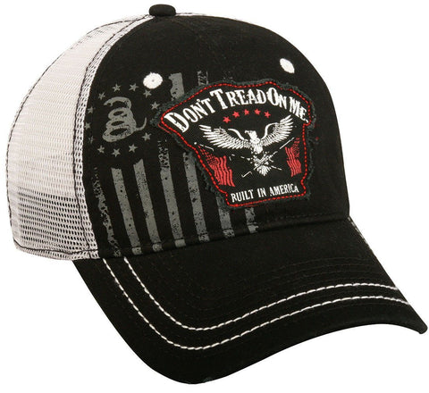 "Don't Tread On Me® Hat ""Eagle Flags"" Vintage Cap For Men & Women by DTOM®"
