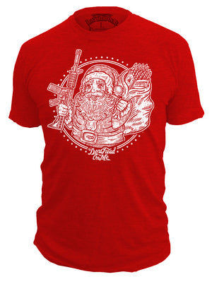 Santa's Got A Brand New Bag - Holiday T-shirt - Don't Tread On Me