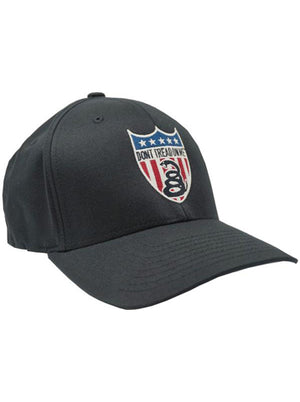 American Badge - Flex Fitted Hat - Don't Tread On Me