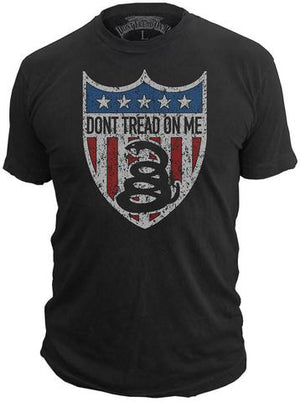 American Badge - T-Shirt - Don't Tread On Me