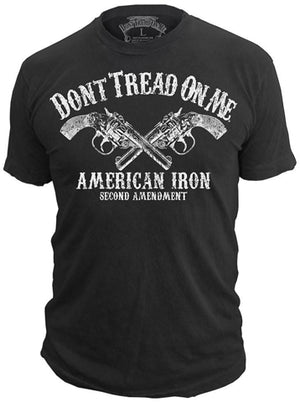 American Iron - T-Shirt - Don't Tread On Me