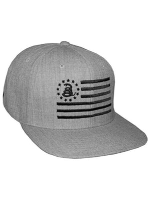 Combat Flag - Snapback Hat - Don't Tread On Me