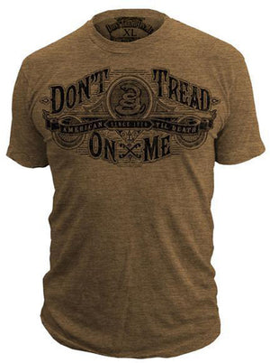 Gettysburg - 50/50 T-Shirt - Don't Tread On Me