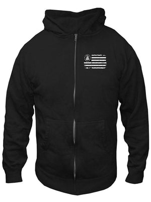 Guardian -  Zippered Hoodie Sweatshirt