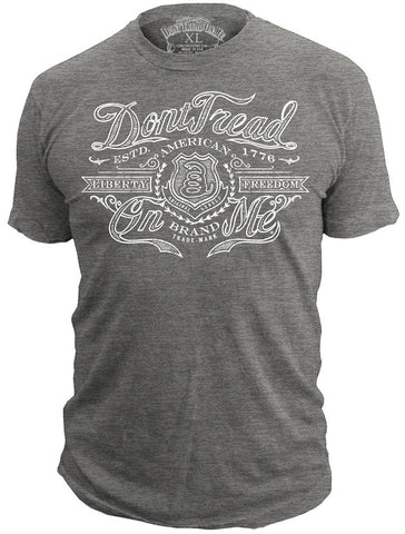 Don't Tread On Me® - Heritage - 50/50 - T-Shirt