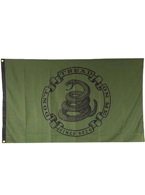 Militia - 3X5 Flag - Don't Tread On Me
