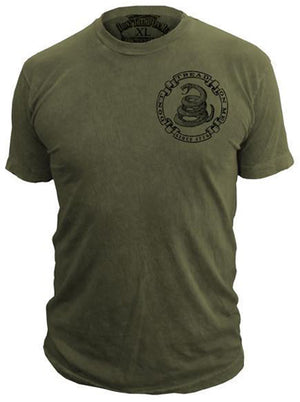 Militia - T-Shirt - Don't Tread On Me