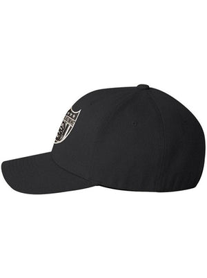 Snake Badge - Flex Fitted Hat - Don't Tread On Me