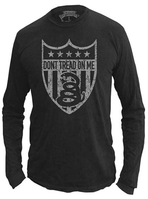 Snake Badge - Longsleeve Shirt - Don't Tread On Me
