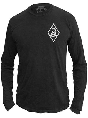 Snake Diamond - Longsleeve Shirt - Don't Tread On Me