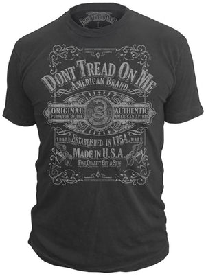 Whiskey T-shirt - Don't Tread On Me