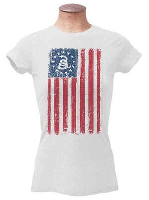 Womens - Old Glory - Don't Tread On Me