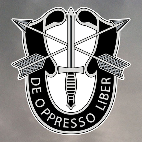 SPECIAL FORCES INSIGNIA STICKERS 0012