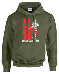 Rhodesian Army Hooded Sweatshirt
