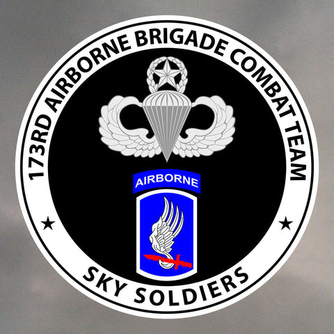 173rd Airborne Stickers 0035
