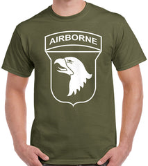 Army 101st Airborne Patch T-Shirt
