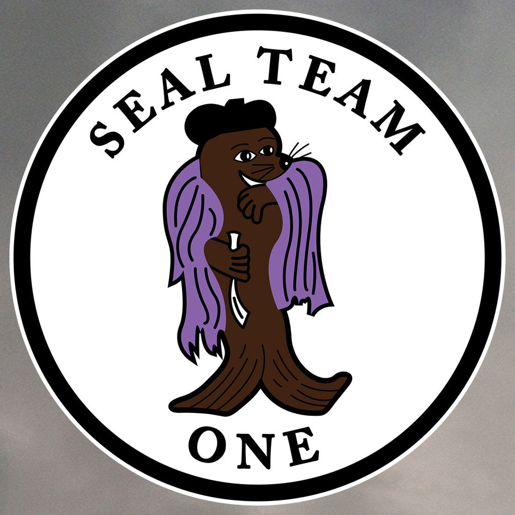 SEAL Team 1 Stickers 0047