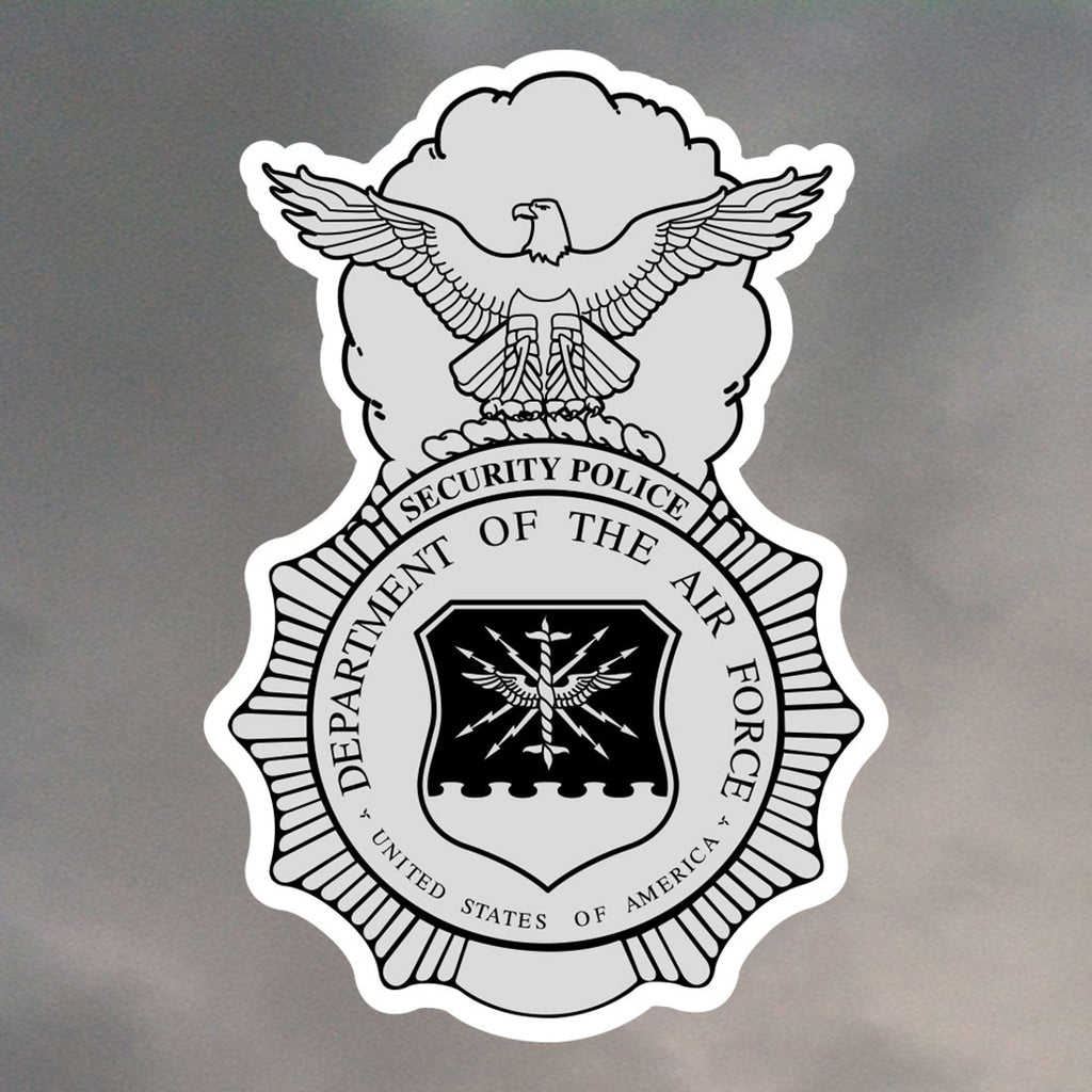 SECURITY POLICE STICKERS 0059