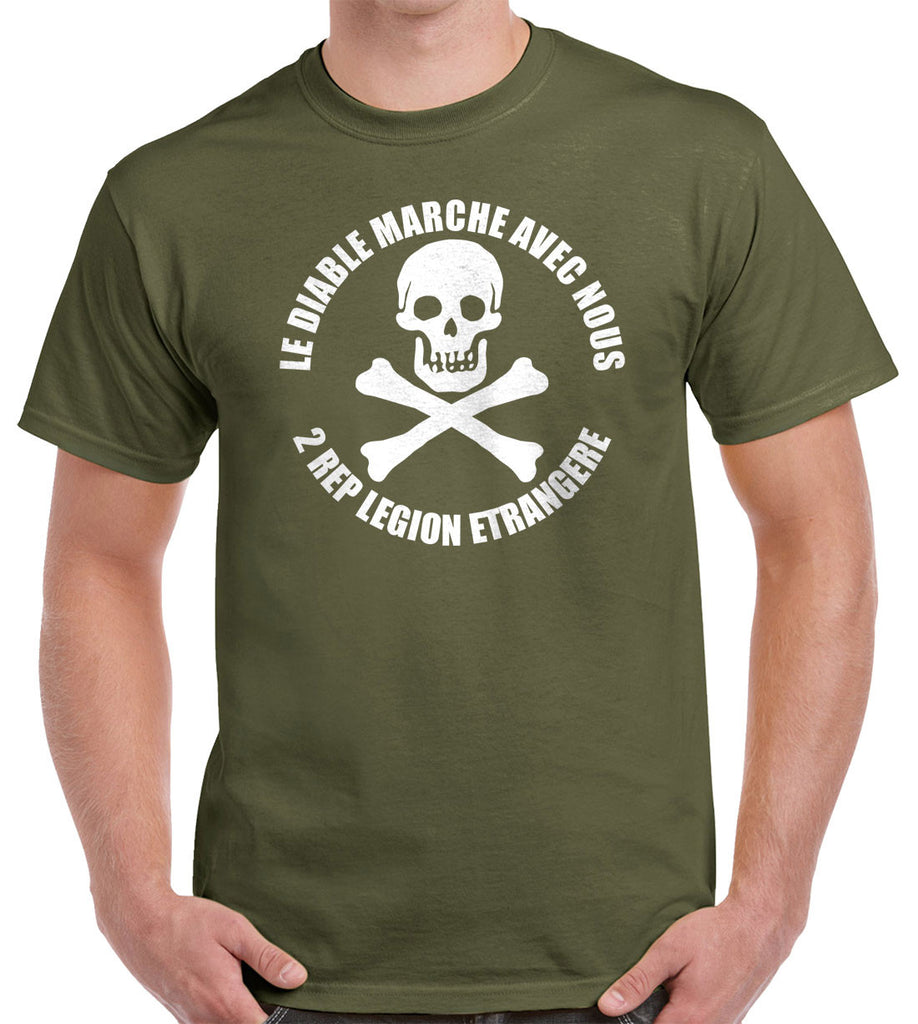 Foreign Legion 2 REP Skull Shirt