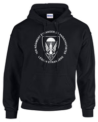 Foreign Legion Airborne Pullover Hooded Sweatshirt