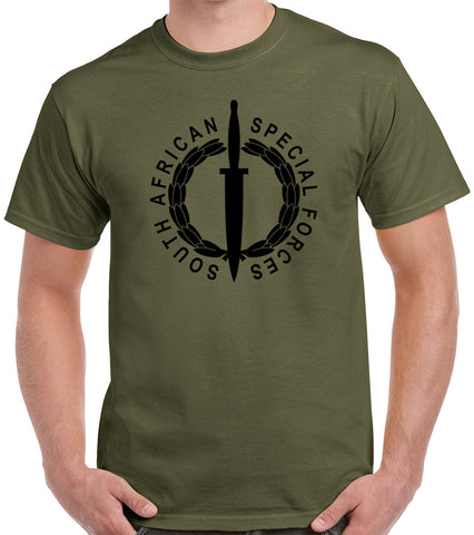 South African Special Forces T-Shirt 0938