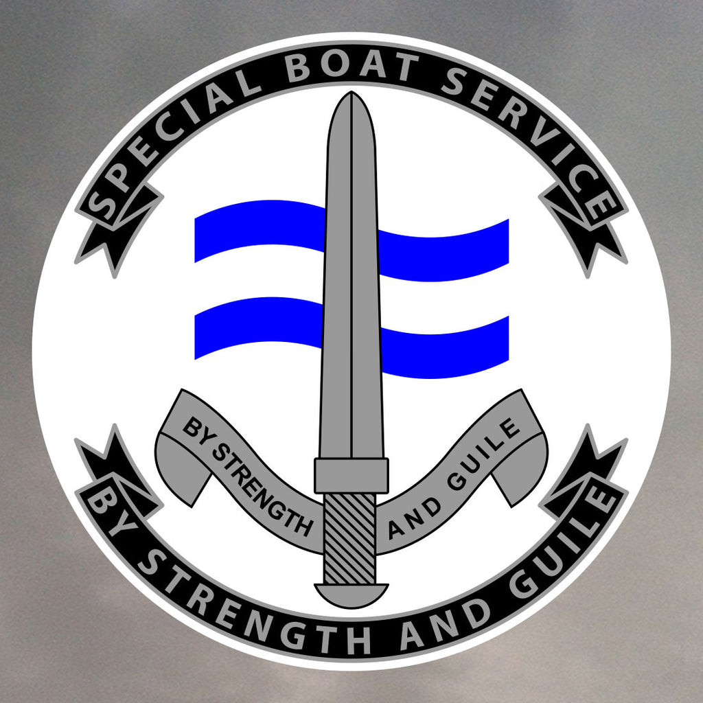 Special Boat Service Stickers