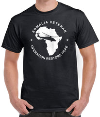 Somalia Veteran Shirt - Operation Restore Hope