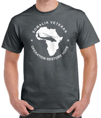 Somalia Veteran Tee - Operation Restore Hope