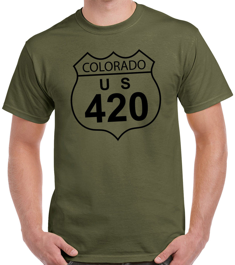 Colorado 420 Weed Shirt