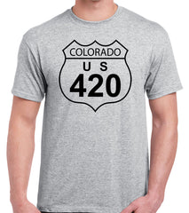 Colorado 420 Weed T-Shirt