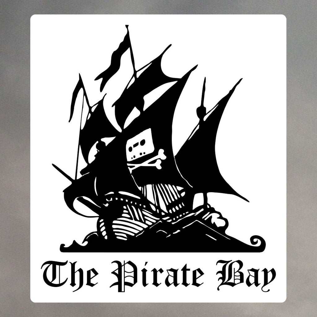 PIRATE BAY STICKERS 1162