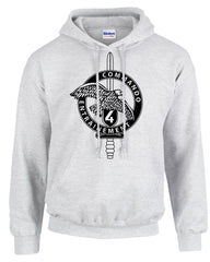 French Commando Hooded Sweatshirt
