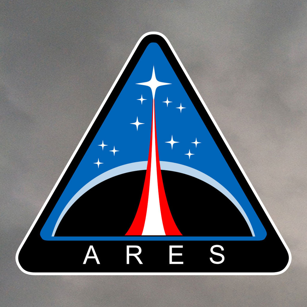Ares NASA Mars Mission Stickers 1454