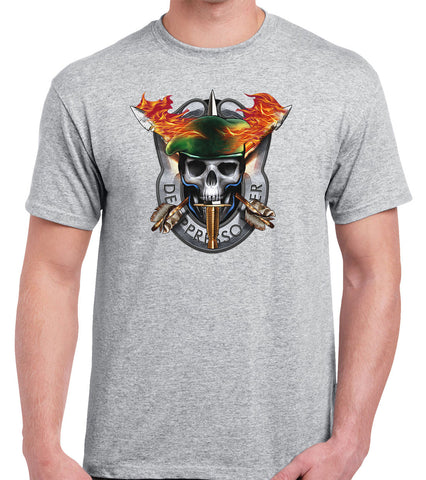 Special Forces Skull Shirt