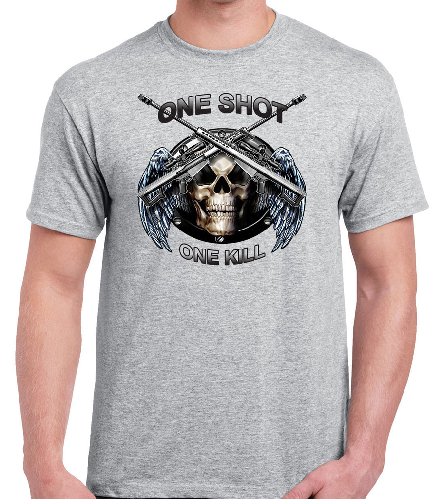 Sniper T-Shirt One Shot One Kill